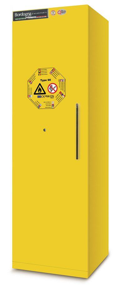 17 Armadio materiali pericolosi - BACMY1160